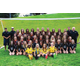 "All 45 of the Murray Spartan's girls soccer players pose for a photo at the beginning of the season. ""In my experience, Murray soccer has always been a close-knit family,"" team captain Katie Valdez said. ""We are all very supportive of each other and work really well together."" (Steve Christensen/Murray resident)"