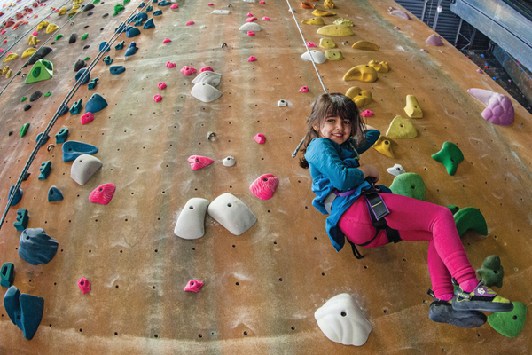 Momentum Indoor Climbing offers climbing experiences for all ages. (Momentum Indoor Climbing)