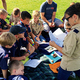 More than 300 Scouts and 100 adult volunteers came together for a night of geology at Rosecrest Park in Herriman. (Tori La Rue/City Journals)