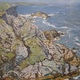 'Rocky Coast' (1939), by Walter Schofield, is on loan from the collection of John and Carol Suplee.