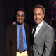 Arvind Venkataraman with host Chris Harrison