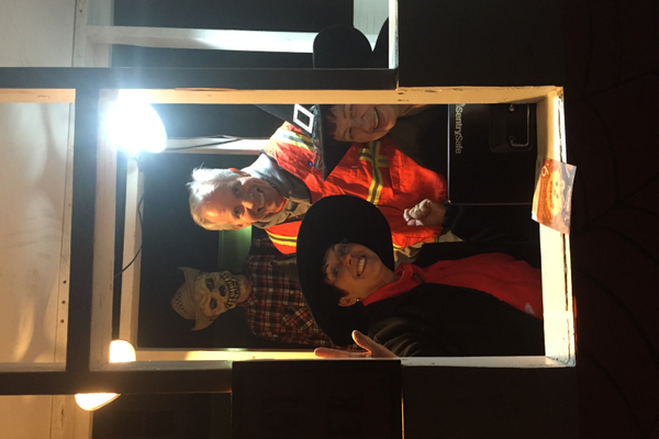 Members of the Murray Exchange Club gear up for the Haunted Woods in October 2015. (Sheri Van Bibber/Murray Exchange Club)