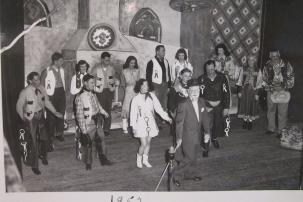 The 1952 'Mirthquake' revue put on by the Oxford Rotary Club.