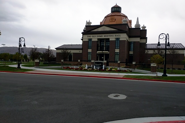 The Old Dome Meeting Hall at the North entrance of Riverton City Park (Tiffany Webb/City Journals)
