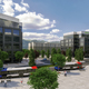 A projected image of what the SoJo Station transit oriented development will look like when completed. (Beecher Walker Architects)