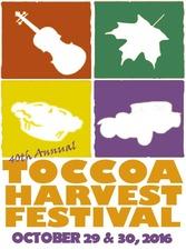 Toccoa Harvest Festival - start Oct 29 2016 0800AM