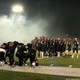 Maple Grove Senior High v. Roseville Senior High football playoffs Oct. 28, 2016. (photo by Doug Erlien)