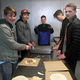 Students from the Excel Club frequently volunteer with the Burrito Project in downtown Salt Lake City (Murray Youth Excel Club)
