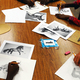 Sketches students were working on in Liz Bunkers art class. (Aspen Perry/City Journals)