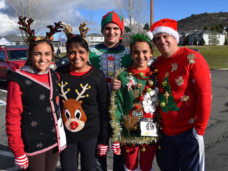 The Siskiyou YMCA Ugly Sweater Christmas Run | Enjoy Magazine