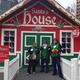Santa's House at the food bank