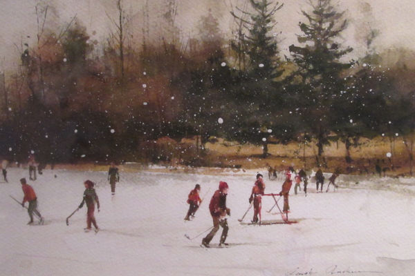 'Winter Games, Twin Lakes' by Carolyn Anderson.