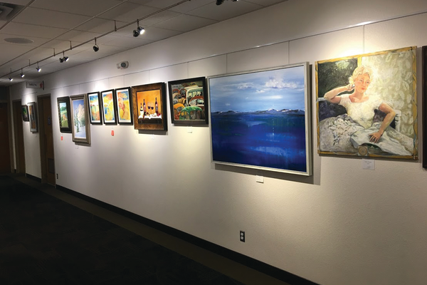 The Cottonwood Heights Art Show featured 86 pieces of art from over 40 Utah artists. (Kelly Cannon/City Journals)
