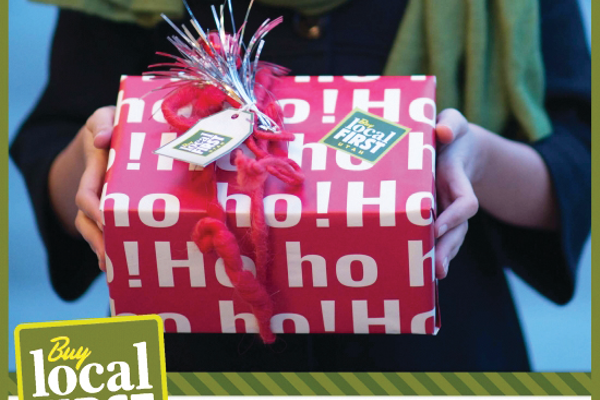 With the help of Local First Utah, Holladay residents are being asked to look local for the holiday season. (Local First Utah)