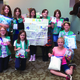 Junior Girl Scout troop 2544 earned their Bronze Award by making 60 activity kits for patients at Primary Children's Medical Center. (Trisha Shreeve/Girl Scout volunteer)