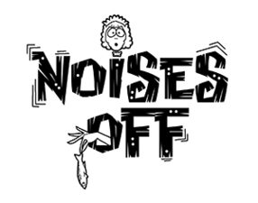 Medium noises off logo bw 300x236