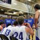 The team discusses a play last season (Kalle Robertson/Bingham High School)