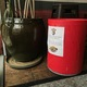 Sugar House Coffee has a red barrel near the back of their shop that has cans of food for the UAF to give out in baskets for the holiday season. (Natalie Mollinet/The City Journals)