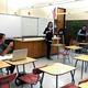 Sophomore Julia Obbard of the Highland High debate team is cross examined after giving her speech during the UCDA Speech Arts Debate tournament on Nov. 12. (Travis Barton/City Journals)