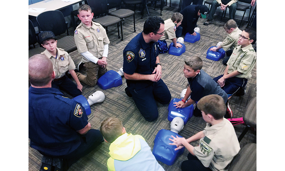 Firefighters develop classes for Scouts | West Jordan Journal