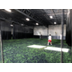 The 20,000-square-foot Forza West soccer club facility has an indoor turf specially designed to withstand the rigors of soccer training. (Greg James/City Journals)