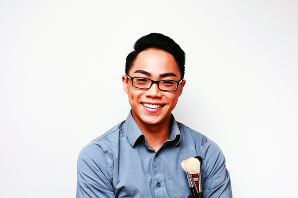 Andy Truong, makeup artist and owner of BeautybyAndy and TRU Lashes. (Huy Tran/H. Tran Photography)