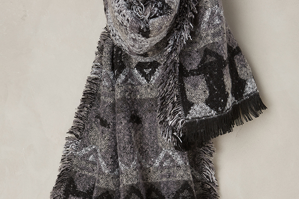 Clemence Blanket Wrap, $68 at Anthropologie, 1182 Roseville Parkway, Suite 150, Roseville. 916-789-9100, anthropologie.com