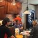 Lisa Drake and family making pierogies.