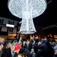 A huge lighted mushroom will be lowered in the middle of Kennett Square on Dec 31 to usher in the new year