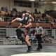 Brayden Stevens takes down opponent. Stevens is one of the top wrestlers at Brighton. (Jerry Christensen/Brighton High School)