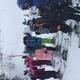Students learn and practice basic skills from Ski Utah instructors. (Ali Brusa/Oakwood Elementary)