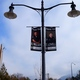 """""""Thank you"""" lamppost banners throughout Holladay Village. (Aspen Perry)"""