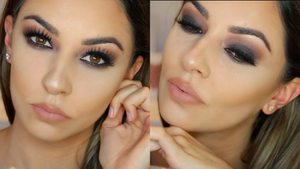 Fast & simple makeup tips & ideas for hooded eyes: - Make the highlighter your best friend. Use it for brighter & bigger eyes.