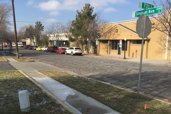 Businesses along Simpson Avenue are set to be replaced by a homeless shelter in the coming years. (Travis Barton/City Journals)