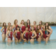 A group photo of the Jordan High School girls swim team. (Mariah Foerster/Resident)