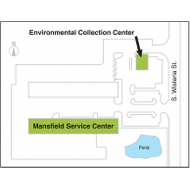 Ecc service center map