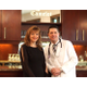 Vicky Fletcher with Dr. Michael Vactor at The Camelot Weddings and Special Events Center in Warrendale, PA. Photos courtesy of Tabatha Knox, Vibrant Images
