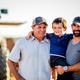 Souza family: David Souza Sr, Corbin Cash & David Souza. Credit Chris Deford