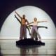 "Alexandra Bradshaw and Bashaun Williams perform ""Play It As It Rings"" by Shirley Ririe and Joan Woodbury. (Ririe-Woodbury Dance Company/ Stuart Rickman)."