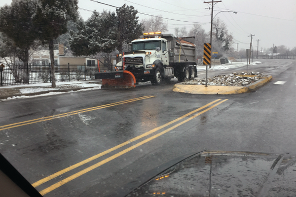 West Valley City has two 14-person crews who operate snow plows. (Stephanie Barton/Contributed)