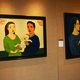 Two paintings depicting the idea the families people construct for themselves. (Huy Tran/ City Journal)