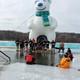 Maple Grove Polar Plunge Feb. 2, 2017 at Fish Lake Regional Park. (Photo by Wendy Erlien)