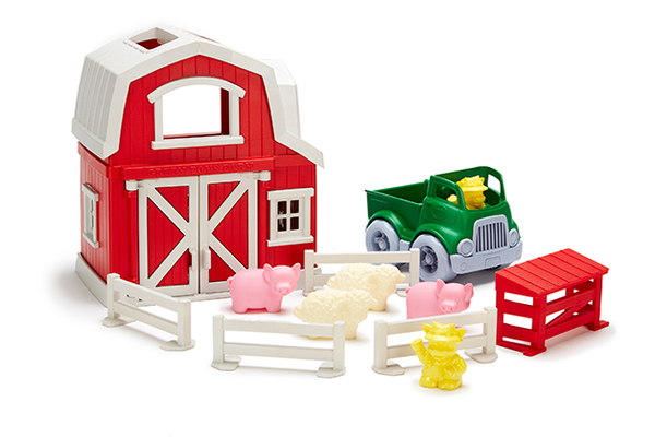 Green Toys Farm Playset, $49.99 at Brainy Zoo Toys, 12401 Folsom Boulevard, Suite 209, Rancho Cordova. 916-353-2966, brainyzootoys.com Made from 100-percent recycled plastic milk jugs; packaged with recycled and recyclable materials and printed with soy inks