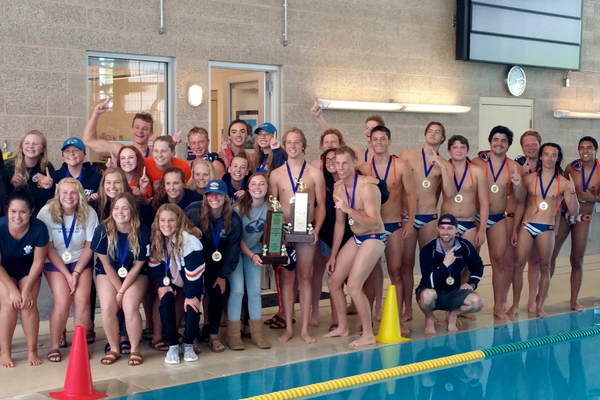 Both the girls and the boys Bengal water polo teams won their respective state championships in 2016. (Lyse Durrant/Bengal Water Polo)