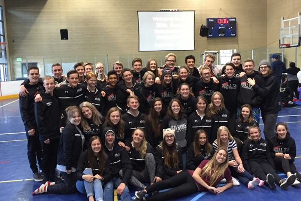 2016-17 team photo of Alta's swimmers. (Kelsie Court/Alta Head Coach)