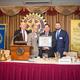 JW Waudby, Robin Zoufalik, Pittsburgh Mayor William Peduto and Ethan Nicholas, Photo courtesy of Michael Leonardi, Candidly Yours Photography