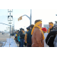Riverton High School students and community members take a group walk on Jan. 28 to remember those who committed suicide, demonstrate awareness of suicide and encourage suicide prevention. (McKara Warr/Riverton Hope Squad)