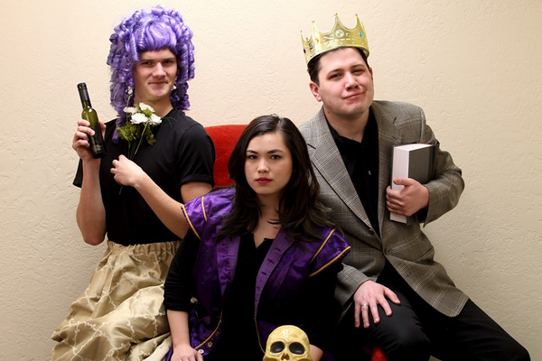 "Matt Oviatt, Brenda Dang and Blake London will be performing in the Midvale Arts Council's ""The Complete Works of William Shakespeare (abridged)"" at 7:30 p.m. at 695 W. Center Street on March 3, 4, 6, 10 and 11. (Midvale Arts Council)"