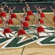 """Dancing to Celine Dion's song, """"Power of Love,"""" Hillcrest High drill team awed the judges and crowd with their dance routine during the state competition. They won the dance category. (Scott Tarbet/Hillcrest High School)"""