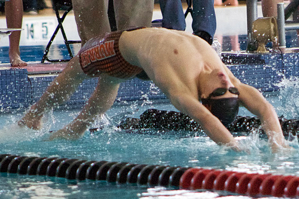 Senior Jonah Black earned first- and second-place finishes at the 4A state swim finals. (Travis Barton/City Journals)